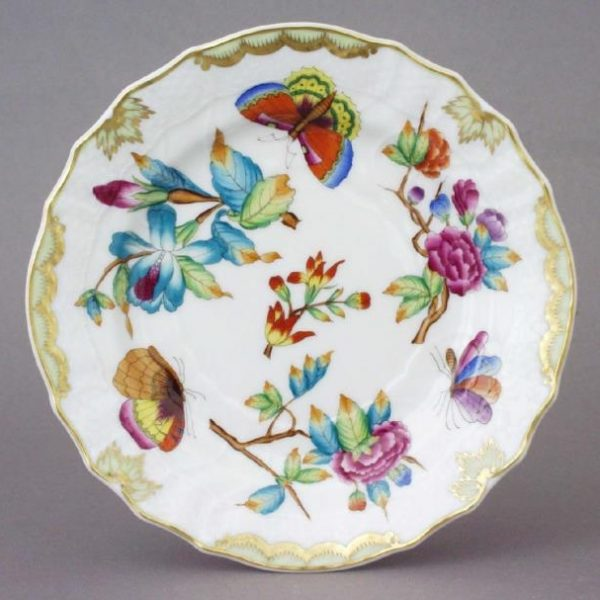 Victoria Museum - Bread & Butter Plate