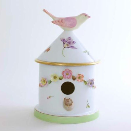 Bird house box - Vienna Rose Lilac