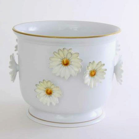 Flowerpot with daisies - Medium