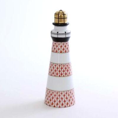 Lighthouse - Fishnet Rust