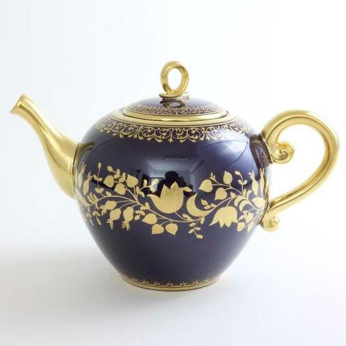 Cobalt Blue & Gold Teaset for two - Limited to 50 sets