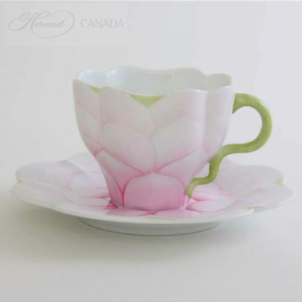 Morning Glory - Teacup and Saucer