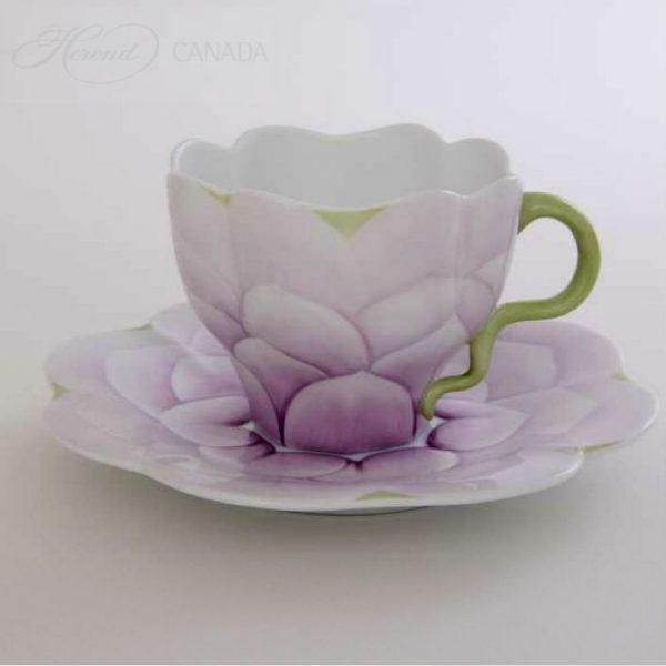 Tulip Pink - Teacup and Saucer