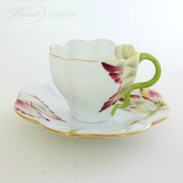 Teacup and Saucer - Tulip
