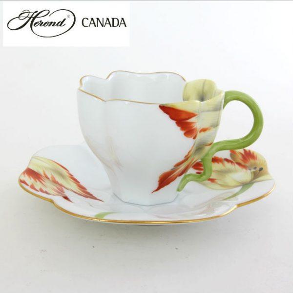 Teacup and Saucer - Tulipe2