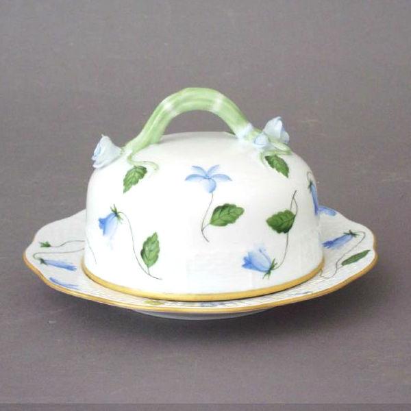 Campanule - Butter dish, branch knob