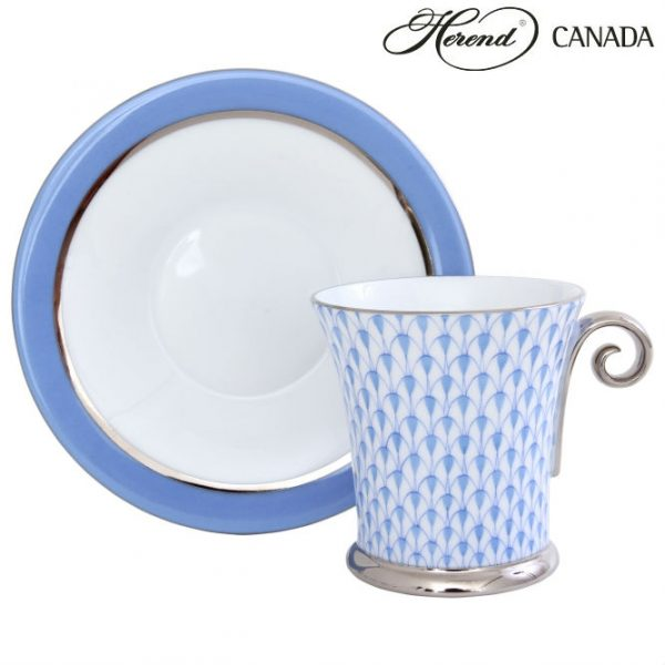 Moccacup and Saucer - Fishnet Colors