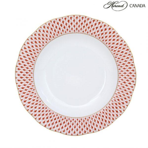Soup Plate - Ribbon Flower