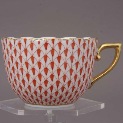 Fishnet Colors - Espresso Cup and Saucer