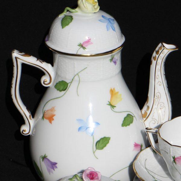 Campenule Multicolor - Coffee Pot, bird knob