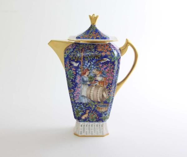 Herend Porcelain Limited Edition - Persian Moccaset for 2