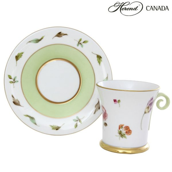 Hommage a saxe - Large Cup and Saucer
