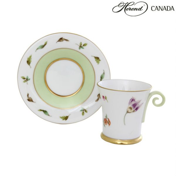 Hommage a Saxe - Moccacup and Saucer
