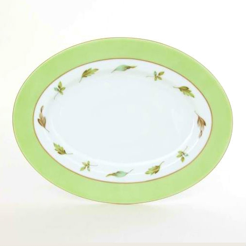 Hommage a saxe - Oval Dish