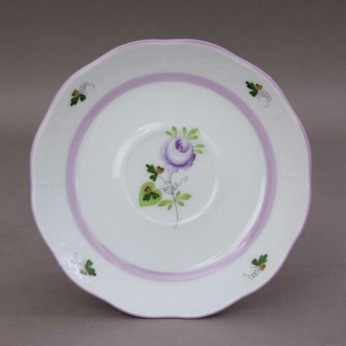 Vienna Rose Purple - Teacup and Saucer