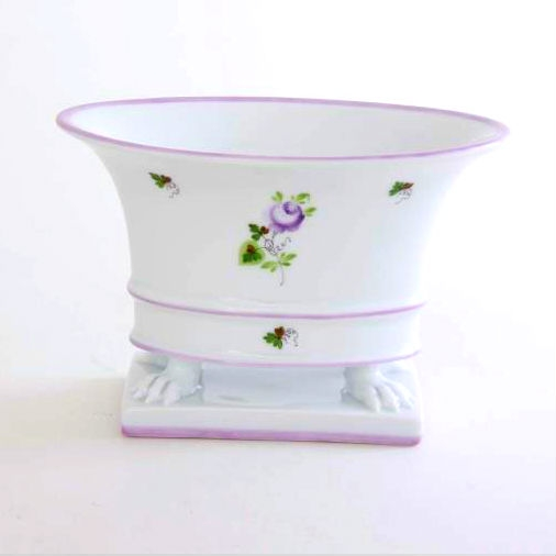 Vienna Rose Purple - Oval vase, empire
