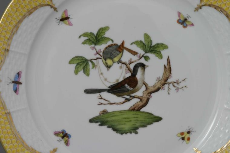 Triangle Dish - Rothschild Bird Brown