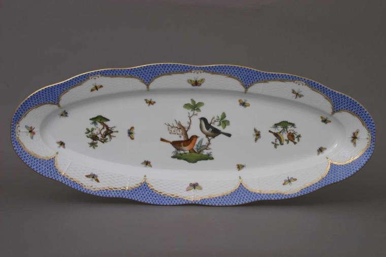 Medium Fish Dish - Rothschild Bird Blue