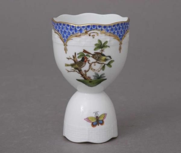 Egg Cup - Rothschild Bird Blue