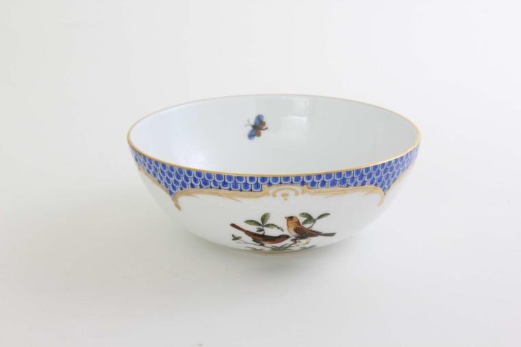 Serving Bowl - Rothschild Bird Blue