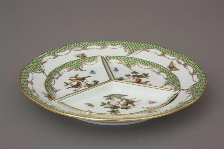 Hors d'oeuvre dish - Rothschild Bird Green