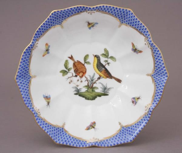 Medium Bowl - Rothschild Bird Blue