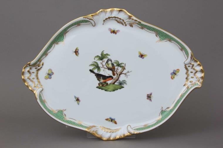 Tray - Rothschild Bird Dark Green