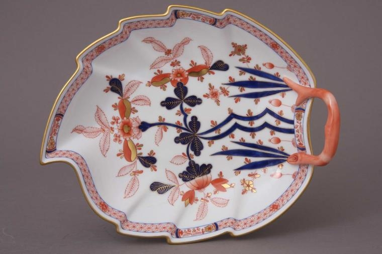 Small Leaf Dish - Canton