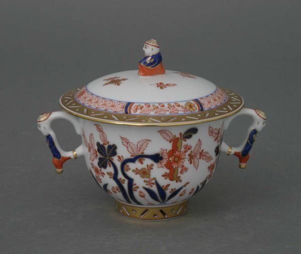 Sugar basin, mandarin knob - Canton