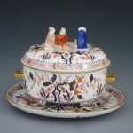 Tea caddy, mandarin knob - Canton Decor Herend Canada