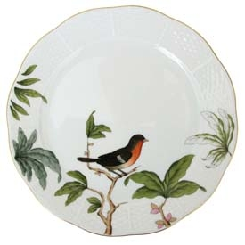 Salad Plate - Foret Bird
