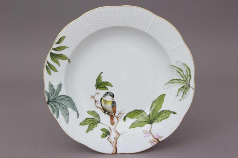 Chinese Bouquet Blue - Soup Plate