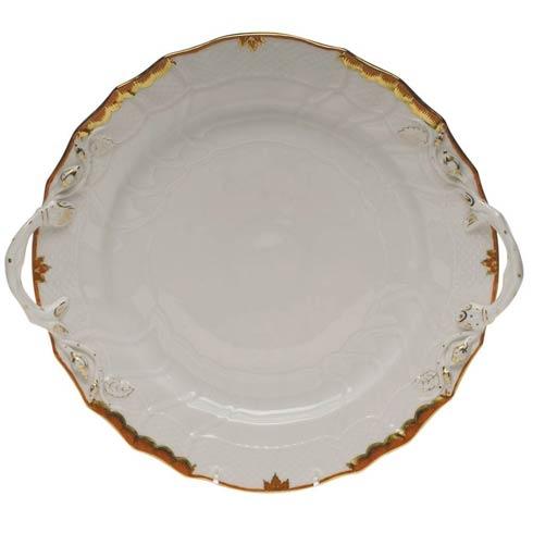 Cake plate, w. handle - Princess Victoria Colors