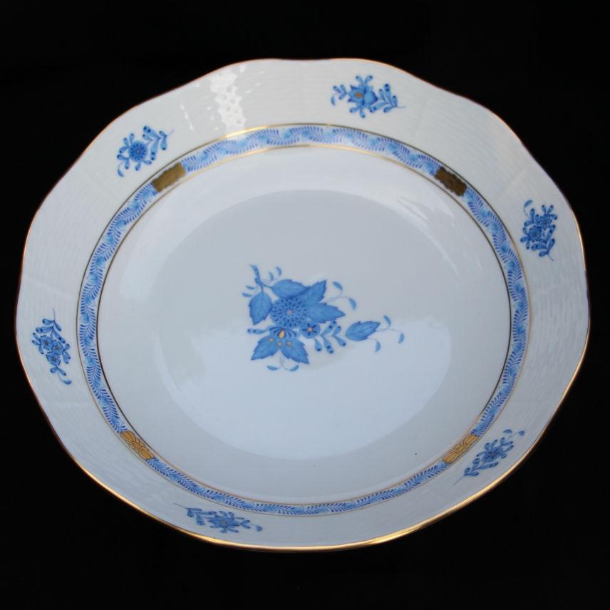Fruit Bowl - Chinese Bouquet Blue