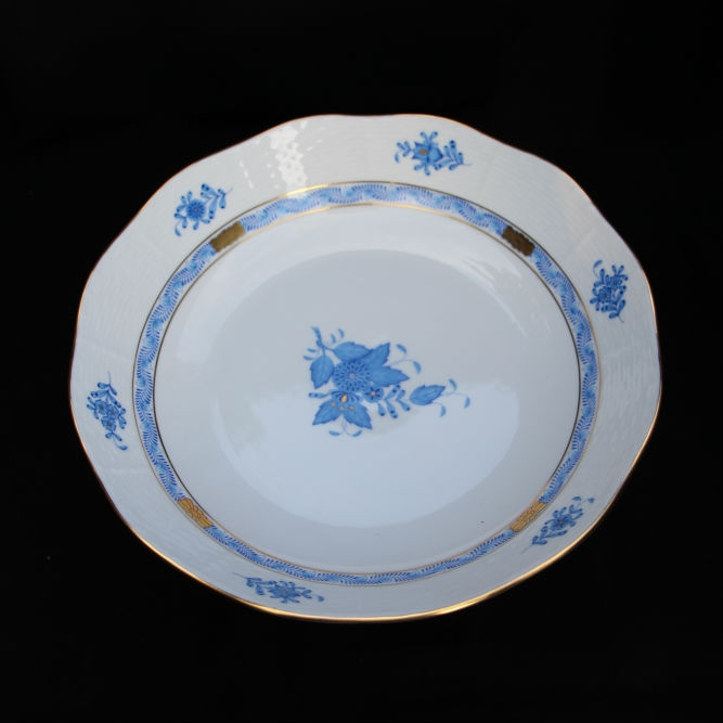 Vegetable Dish - Chinese Bouquet Blue