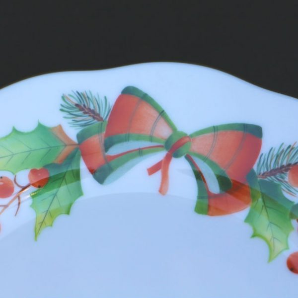 Dessert Plate Set for 2 - Christmas Edition