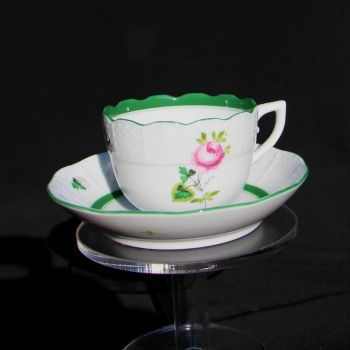 Espresso Cup and Saucer - Vienna Rosr