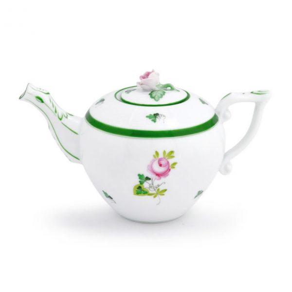 Teapot, rose knob - Vienna Rose
