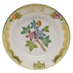 Queen Victoria Seder Plate with small plates (6)