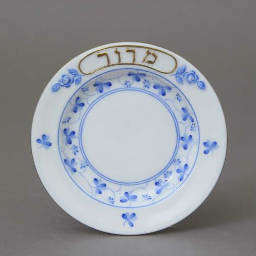 Seder Dish with small plates (6) - Rothschild Bird