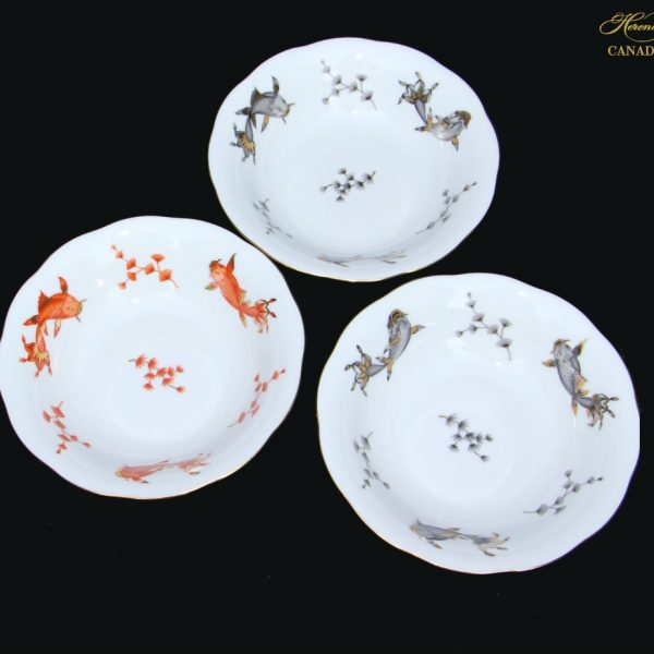 Cereal Bowl Set of 3 - Coy Fish