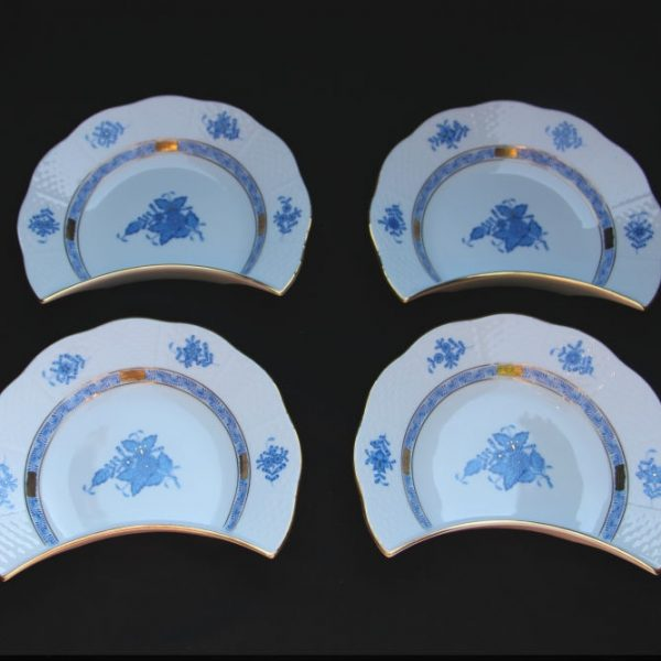 Herend Chinese Bouquet Bone Dish - Crescent Set for 30% off
