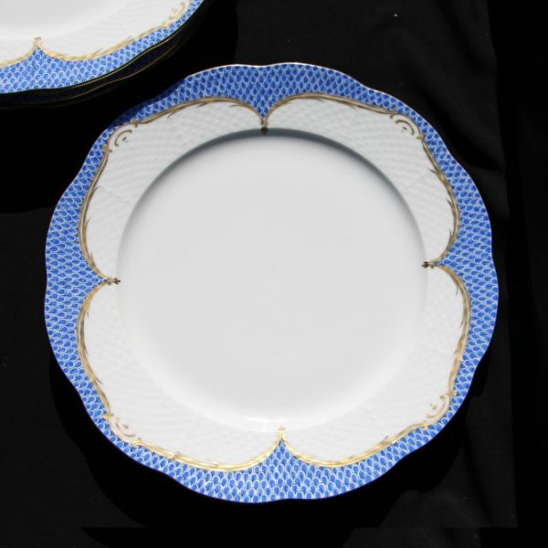 Charger Set for 5 - Fish Scale Blue Classic