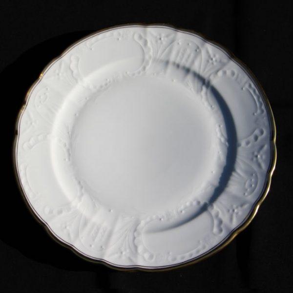 White Hadik - Dinner Plate set for 6