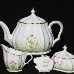 Teaset pieces - DAISY