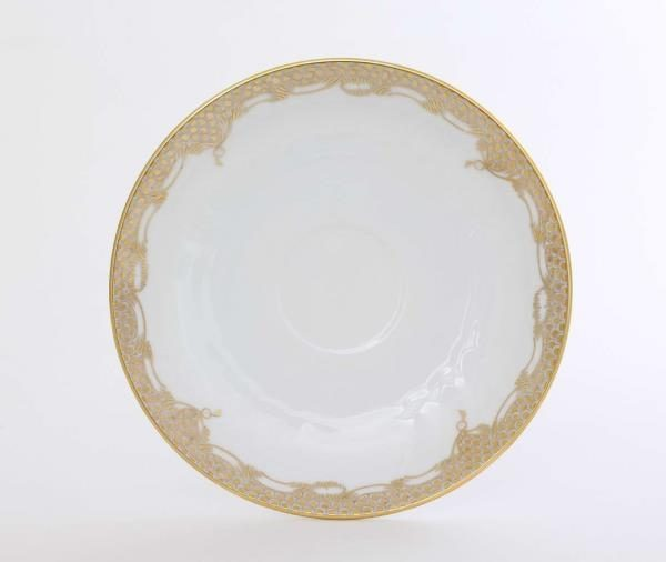 Charger Plate - Fish Scale Gold