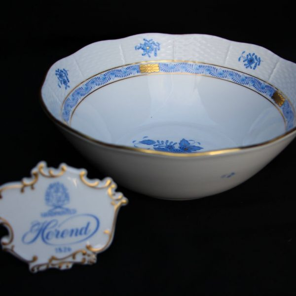 Pasta Bowl - Chinese Bouquet Blue