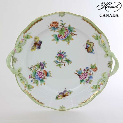 Campanule - Cake Plate w. handle