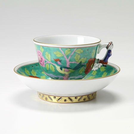 Coffee Cup and Saucer - Macao