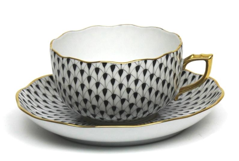 Fishnet Black Tea Set 2